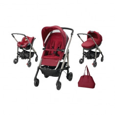 Carucior Trio Loola Excel Robin Red Bebe Confort - Carucior copii 3 in 1 Bebe Confort, Albastru