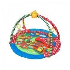 Saltea de joaca pentru copii Casuta Ursuletilor Baby Mix - Tarc de joaca Baby Mix, Multicolor