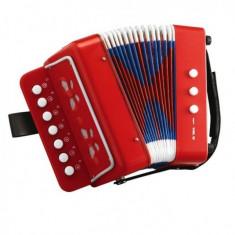 Acordeon 18 cm cu 10 clape Simba - Instrumente muzicale copii