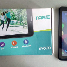 Tableta Evolio Tab 3G / GPS / Wi-Fi / cu functie de apelare ( telefon), 7 inch, 4 Gb, Wi-Fi + 3G