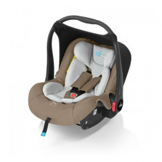 Scoica auto Leo Beige Baby Design - Scaun auto bebelusi grupa 0+ (0-13 kg)