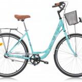 Bicicleta Oras, Robike, Elise N3, Jante 26 inch, Cadru 46 cm, Turcoaz, 2016 Robike - Bicicleta de oras