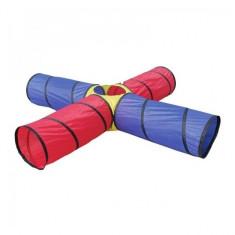 Ansamblu corturi de joaca Tunnel Centre Knorrtoys - Casuta copii Knorrtoys, Multicolor