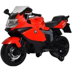 Motocicleta Copii, Sun Baby, BMW 6V Lancer, Rosu-Negru, Varsta 3-6 Ani SUN BABY - Masinuta electrica copii