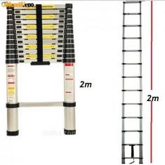 Scara telescopica 2 metri - Scara/Schela constructii