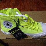 Converse All Star II Neon Yellow - Tenisi dama Converse, Marime: 37.5, Culoare: Din imagine