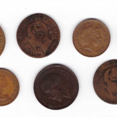 Marea Britanie - lot monede vechi