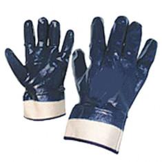 Manusi de protectie albastre nitril cu manson neelastic Top Strong - Echipament lucru