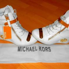 SNEAKERS MICHAEL KORS /NEW MODEL-NR 36 37 38 - Adidasi dama Michael Kors, Culoare: Alb
