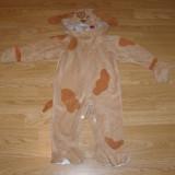 Costum carnaval serbare animal catel pentru copii de 1-2 ani 24 luni - Costum copii, Marime: Masura unica, Culoare: Din imagine