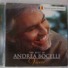 Andrea Bocelli - Vivere/The best Of - Muzica Pop universal records, CD