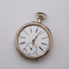 R - Ceas de buzunar din argint 800 - Ceas de buzunar vechi