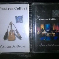 Casete Pasărea Colibri - Muzica Folk roton, Casete audio