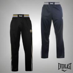 Nou! Pantaloni Trening Barbati Everlast Classic originali - marimea S M L XL XXL - Pantaloni barbati, Culoare: Indigo, Negru, Poliester