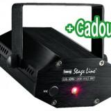 Mini-unitate efect laser Stage Line LSE-10RG - Echipament DJ