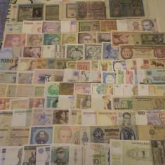 Colectie 100 bancnote diferite, Europa