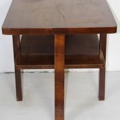 Masuta Vintage, din lemn masiv; Masa de cafea - Mobilier, Mese si seturi de masa, Dupa 1950