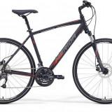 Bicicleta barbati de oras, Merida, CRW 40-D, 2016, Negru-Rosu Merida