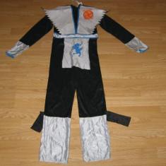 Costum carnaval serbare ninja pentru copii de 10-11-12 ani - Costum Halloween, Marime: Masura unica, Culoare: Din imagine