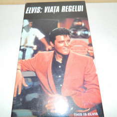 CASETA VIDEO ELVIS VIATA REGELUI - Film Colectie, Altele
