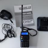 Statie PMR Baofeng UV-5R Walkie Talkie - Statie Radio Portabila