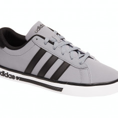 ADIDAS Neo produs original 45 NOI in cutie tenisi pantofi sport - Adidasi barbati, Marime: 46, Culoare: Gri, Piele sintetica