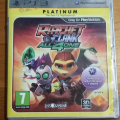 PS3 Ratchet & Clank All 4 one Platinum - joc original by WADDER - Jocuri PS3 Sony, Actiune, 3+, Multiplayer