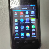 Vodafone 875 - Telefon mobil Vodafone, Negru, 4GB, Dual core, 512 MB