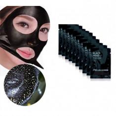 Masca impotriva punctelor negre: Set 10 pliculete - Masca fata