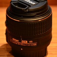 Nikon 18-55 VR II ( Nou ) - Parasolar Obiectiv Foto