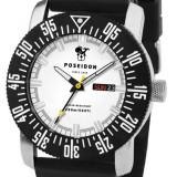 Poseidon Date Silicon White - Ceas barbatesc