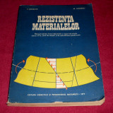 REZISTENTA MATERIALELOR - V. Drobota, M. Atanasiu, 1977, manual + CADOU - Carti Constructii