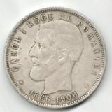 ROMANIA 5 LEI 1886-1906 STARE FOARTE BUNA - Moneda Romania