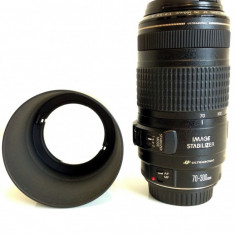 Obiectiv Canon EF 70-300mm f4-5.6 IS USM Image Stabilizer + parasolar tip ET-65B - Obiectiv DSLR