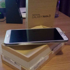 Samsung Galaxy Note 3 - Telefon mobil Samsung Galaxy Note 3, Alb, 32GB, Neblocat, Single SIM