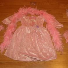 Costum de carnaval serbare printesa pentru copii de 3-4 ani din catifea - Costum Halloween, Marime: Masura unica, Culoare: Din imagine
